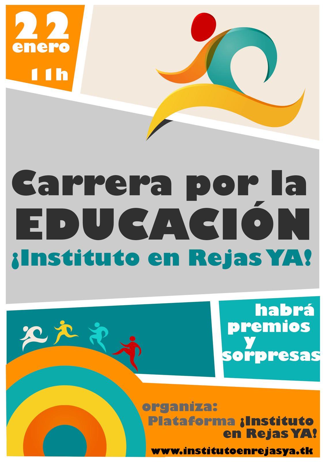 Carrera por la Educación Instituto en Rejas ¡YA!